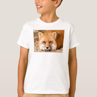 Kids t-shirt featuring Red Fox