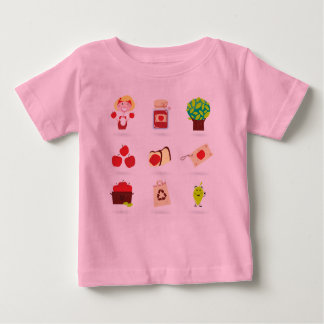 KIDS t-shirt pink with Kids Jam elements