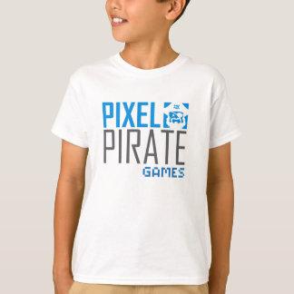 Kids T-Shirt - Pixel Pirate Games Logo