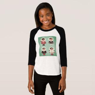 Kids t-shirt with Alaska kids