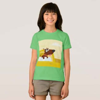 KIDS t-shirt with Cute dog