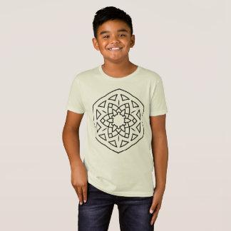 KIDS t-shirt with Mandala / BIO t-shirt