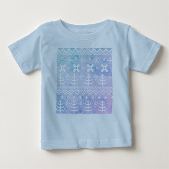 Kids t-shirt with Nordic pattern