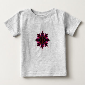 Kids t-shirt with Siberia Black Mandala
