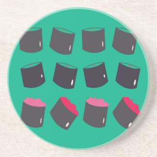 Kids t-shirt with sushis coaster