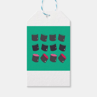 Kids t-shirt with sushis gift tags