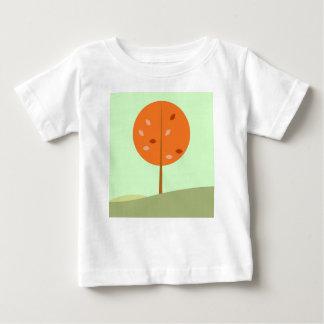 Kids t-shirt with Tree orange