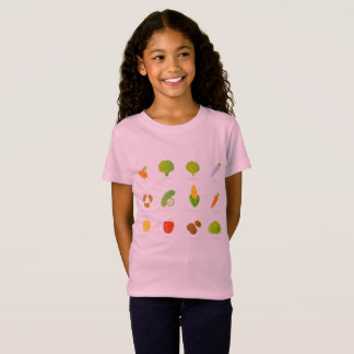 Kids t-shirt with vegetable