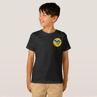 Kids tagless shirt with National SCNA logo
