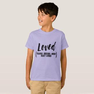 kids tee LOVED Treasured, cherished, adored