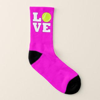 Kids Tennis Love Custom Color Tennis Player Socks 1