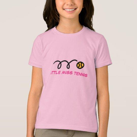 Kids tennis t-shirt | Cute top for little girls