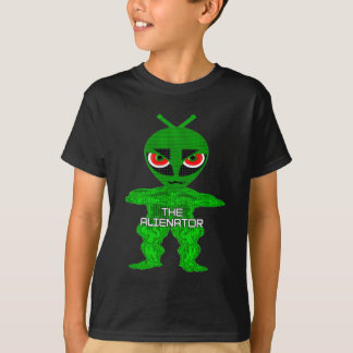 Kids The Alienator Character T-Shirt