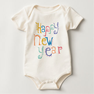 Kids, Toddler, Baby New Years Resolution Baby Bodysuit