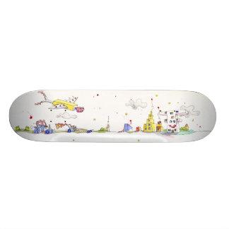 Kids Town Skate Deck