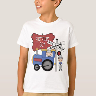 Kids Train Birthday T-Shirt