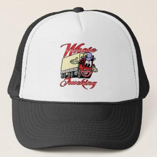 Kids Trucking Trucker Hat