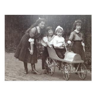 Kids tsar - MARIE, ANASTASIA, ALEXIS Russia #097 Postcard