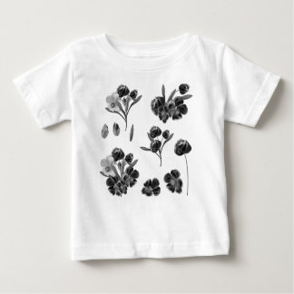 Kids tshirt with folk flowers