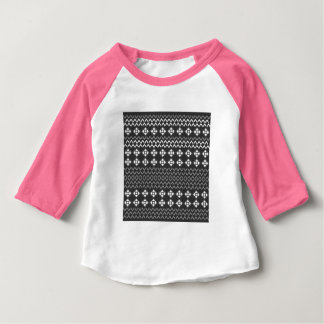 Kids tshirt with folk ornaments