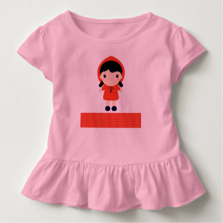 Kids tshirt with Red riding hood