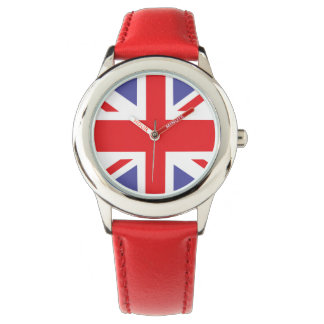 Kids Union Jack British Watch