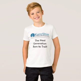 KId's unisex T-shirt, Kuro5hin the next generation T-Shirt