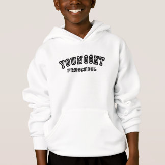 Kid's university logo hooded sweatshirt