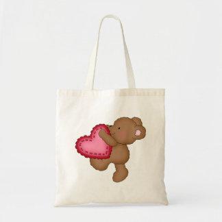 Kids Valentine's Day tote bag