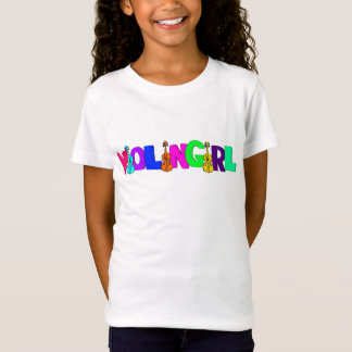Kids Violin Girl Shirt