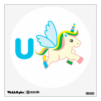 Kids Wall Art - Animals - Unicorn Wall Sticker