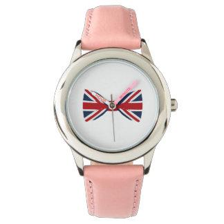 Kid's watches - Union Jack Bow Tie