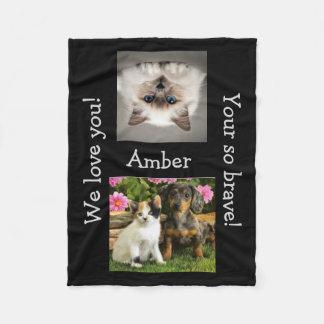 Kids We Love Encouragement Fleece Blanket