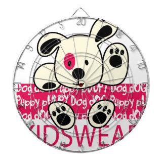 kids wear, baby dog dartboard