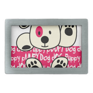 kids wear, baby dog rectangular belt buckles