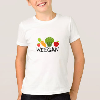 Kids Weegan T-Shirt - Light
