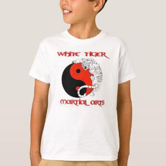 KIDS ~ WHITE TIGER MARTIAL ARTS SHIRTS