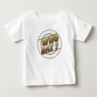 Kids Who Dat T shirt
