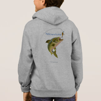 Kids Yellowstone Fishing Hoody