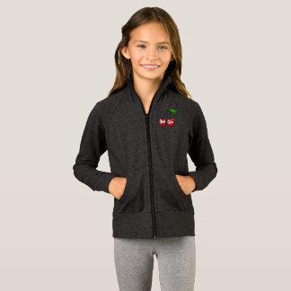 Kids Zip Up Long Sleeves Cherry Talk Secrets Gift Jacket