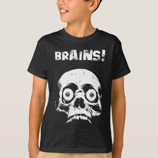 Kids Zombie T-shirt Brains - Romero Would Be Proud