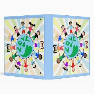 KidsLoveGlobe, KidsLoveGlobe 3 Ring Binder