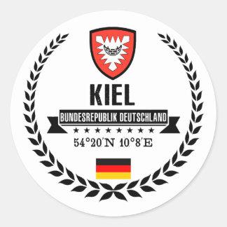 Kiel Classic Round Sticker