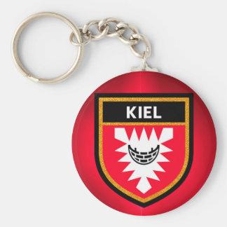 Kiel Flag Basic Round Button Keychain