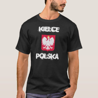 Kielce, Polska, Kielce, Poland with coat of arms T-Shirt