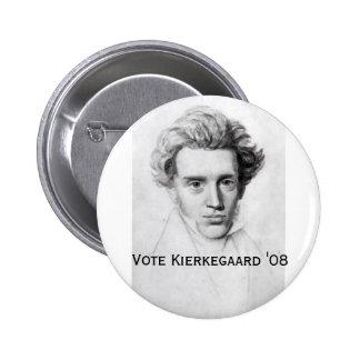 Kierkegaard '08 2 inch round button