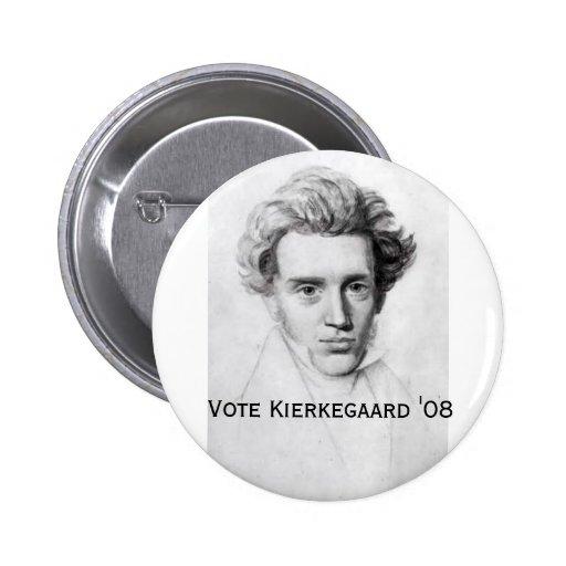 Kierkegaard '08 pins