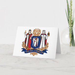 Kiev Coat of Arms (province) Greeting Card