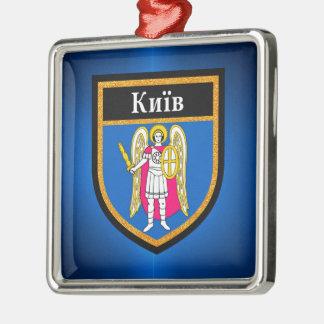 Kiev Flag Metal Ornament