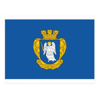 Kiev Flag Postcard